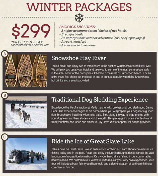 Winter 2013 Packages